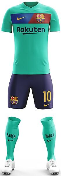FC Barcelona 2018/19 Away Kit