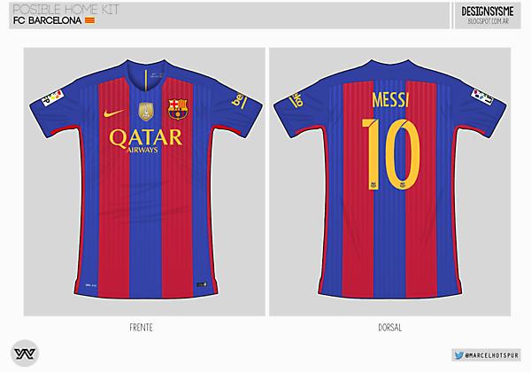 FC Barcelona / home kit ?