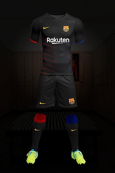 Fc Barcelone kit Away