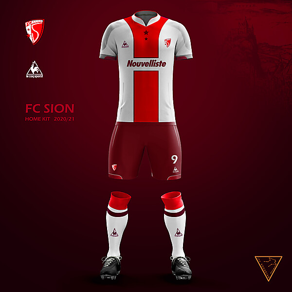 FC Sion kit 2020\21