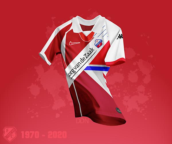 FC Utrecht 50 Year Anniversary Mash-up Kit