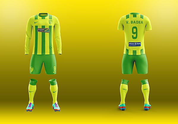 FC Vaslui - Home kit
