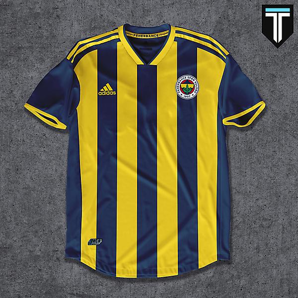 Fenerbahçe SK Home Kit Concept