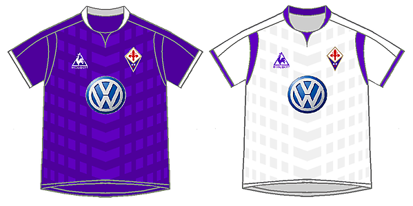Fiorentina Home y Away Kits