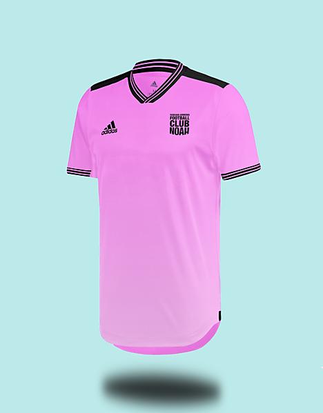 Football Club Noah Home Kit x Adidas -  Concept