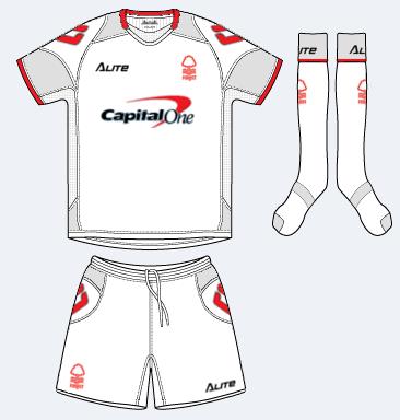 Nottingham Forest Away kit