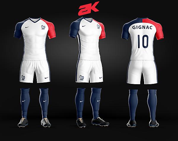France Away Kit - Recreated