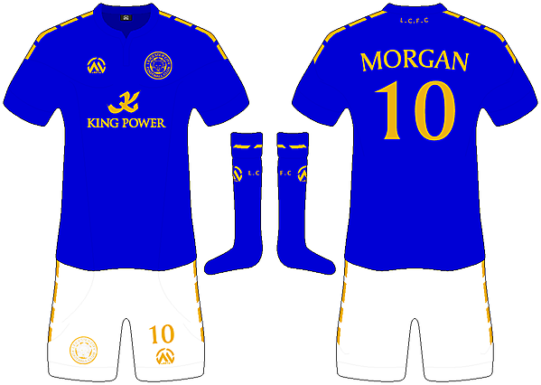 Leicester City Home - mARTin Kit