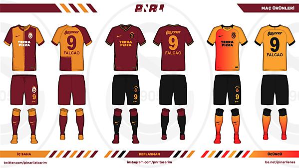 Galatasaray 20/21 x NIKE x PNRL