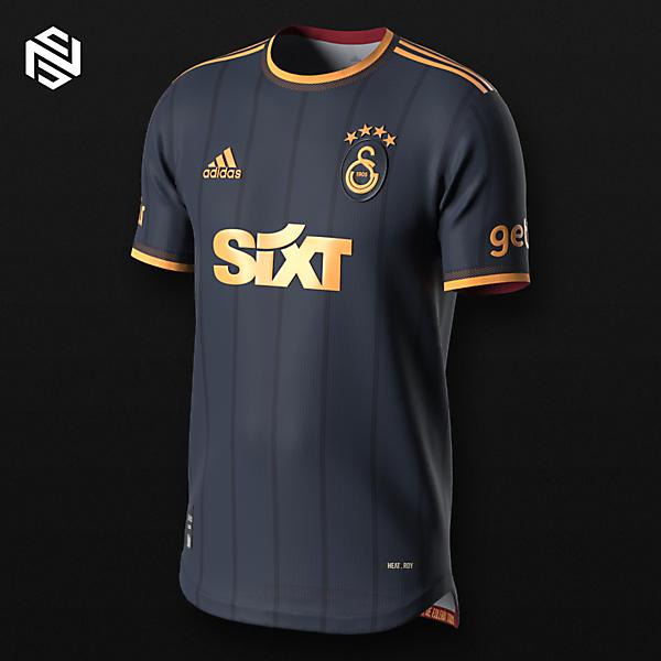 Galatasaray Concept Set - Away x Adidas