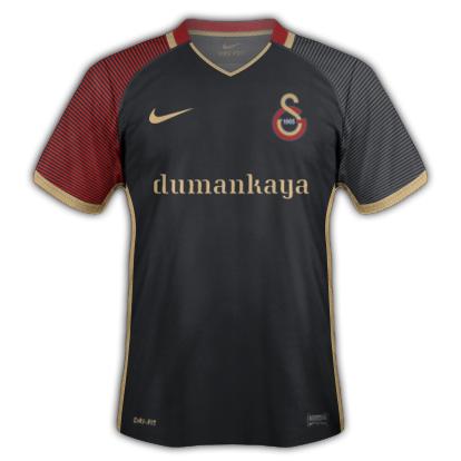 Galatasaray S.K. 2016-17 Away Kit