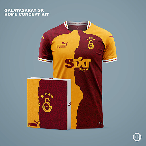 Galatasaray SK | Home kit concept