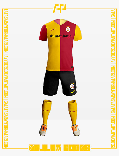 Galatasaray x Yellow Socks 16-17