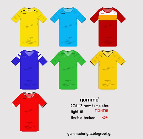 gamma 2015-16 templates