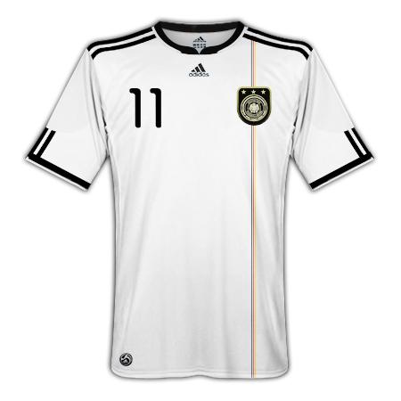 Germany Adidas Home WC2010