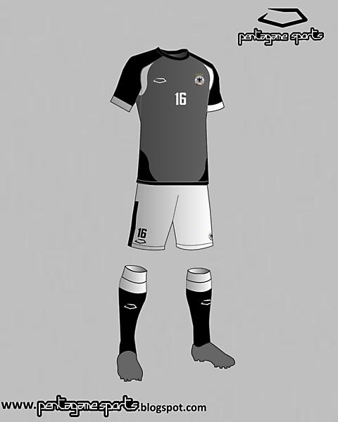 Germany National Football Team Third Kit 2016