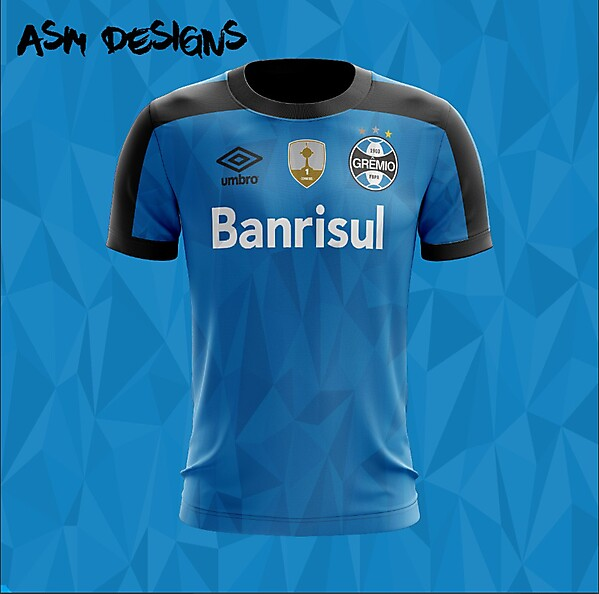 Grêmio 2018 Umbro Home Kit