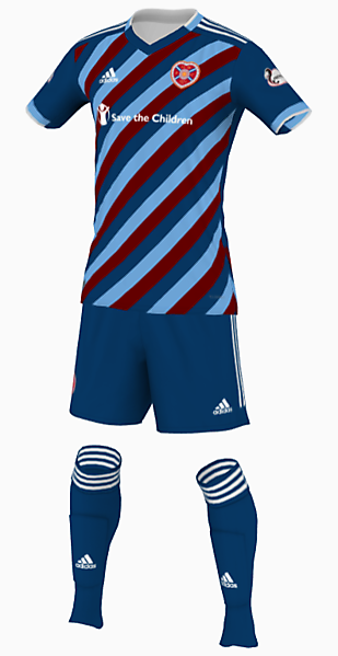 Heart of Midlothian Concept Away Kit
