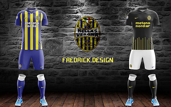 Hellas Verona x Nike x Home/Away