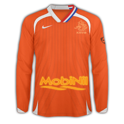 Holland's home kit