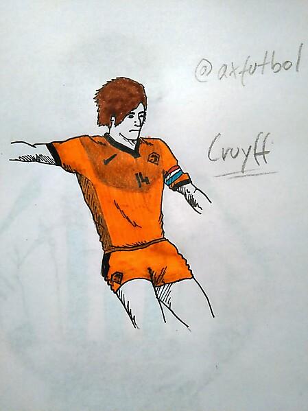 Holland Football Team Home Kit (Cruyff model)