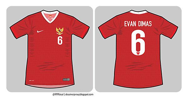 Indonesia 14/15 Nike Home Kit