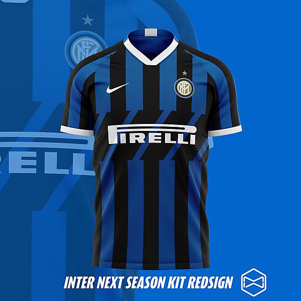 Inter kit 19/20 redesign