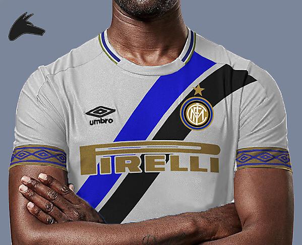 Inter Milan away x umbro