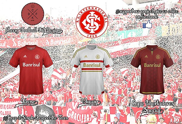 Internacional Porto Alegre Adidas Concept 15/16