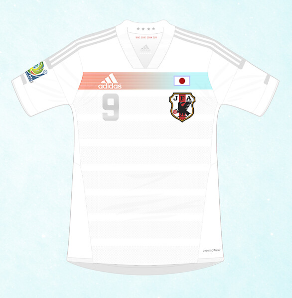 Adidas Japan 2013-2015 / 2013 FIFA CONFEDERATIONS CUP Change Shirt