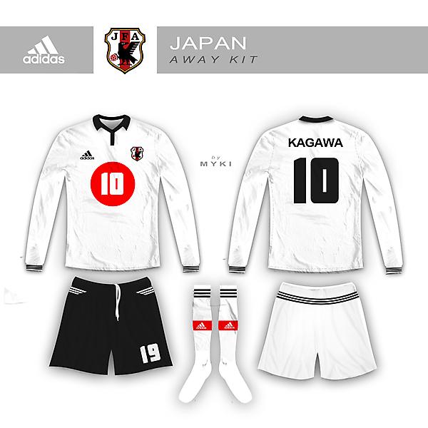 Japanese Away Kit