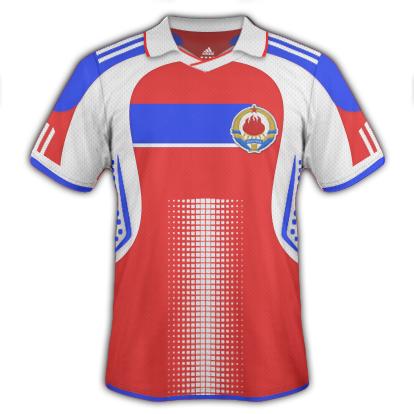 Yugoslavia Third Kit 2010