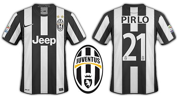 Juventus 2012-13 kits
