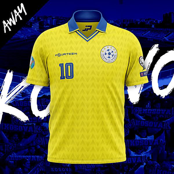 Kosovo Away Concept Kit