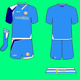 Leicester City 2010 3rd kit design