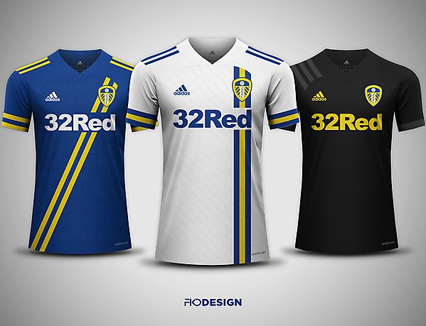 Leeds United FC | Adidas | Home, Away & Third