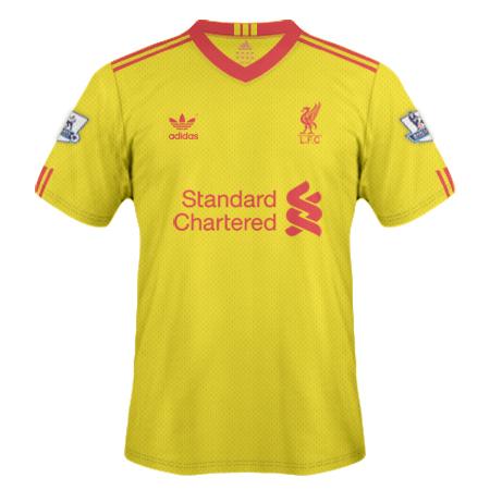 Liverpool Yellow Shirt