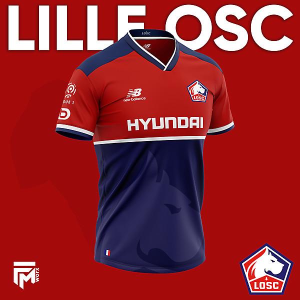 Lille LOSC Concept Retro