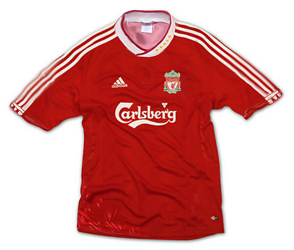 adidas Liverpool Home Shirt