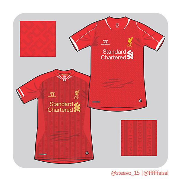 Liverpool FC 13/14 & 14/15 Design Mockup