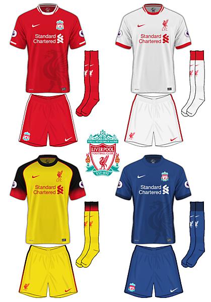 Liverpool Nike