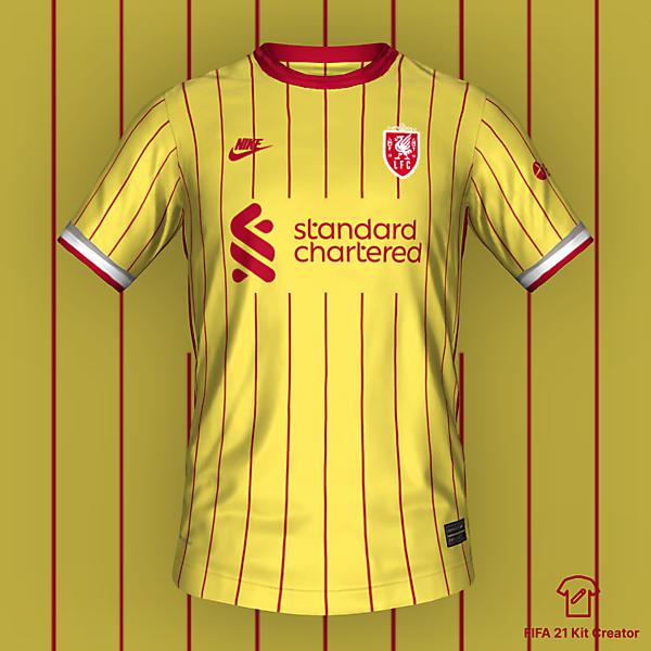 Liverpool Third Kit 2022