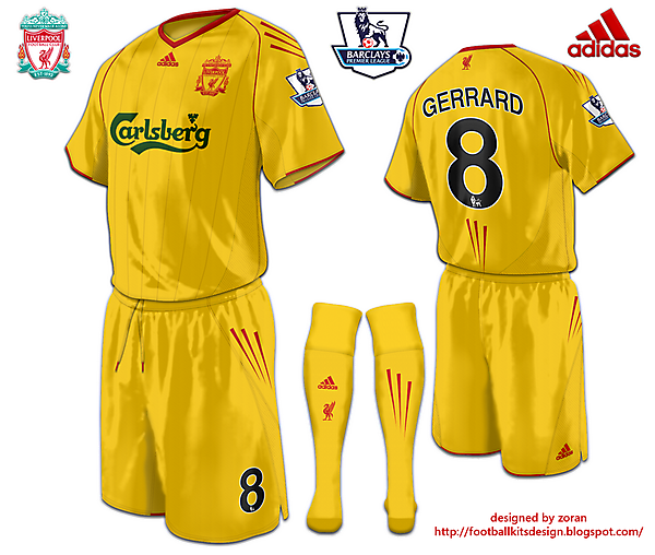 Liverpool fantasy third yellow