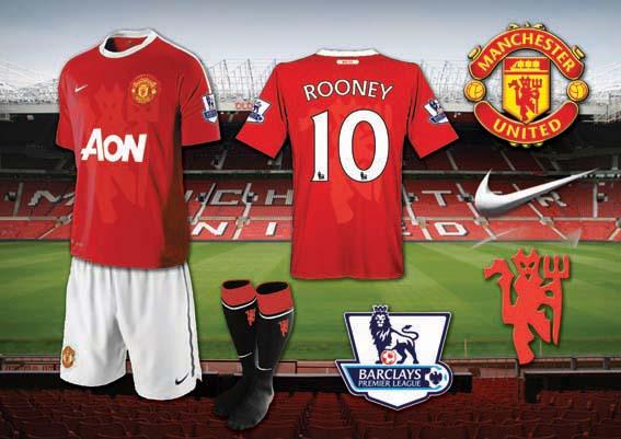 Man Utd Home Kit