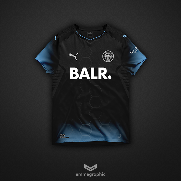 Manchester City   Puma X BALR.