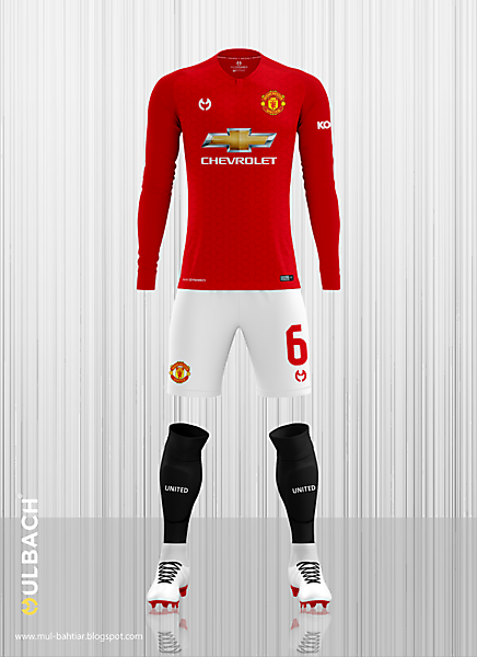 b9a6254ee Manchester United 2019-2020 Home Kit