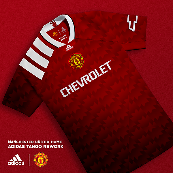 Manchester United Home: Adidas Tango Rework