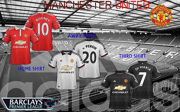 Manchester United new Adidas shirt designs