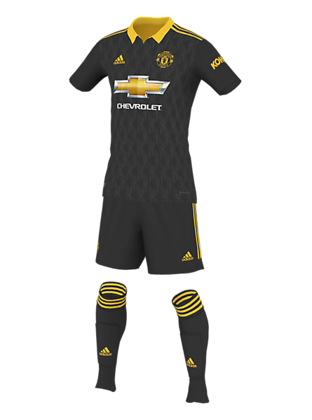 Manchester United Third Kit Concept