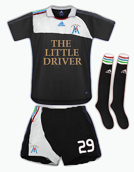 Marceltipool Away Kit - adidas